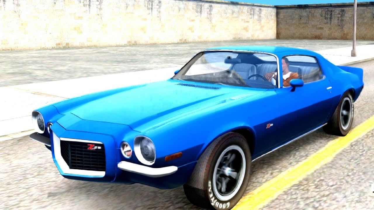 345e1e26e6f40 1972 Chevrolet Camaro Z28 - GTA San Andreas - YouTube