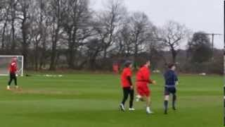 Louis Tomlinson Training With Doncaster Rovers