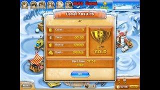farm Frenzy 3 Ice Age (level 47) only GOLD Веселая ферма 3 Ледниковый период (уровень 47) Золото