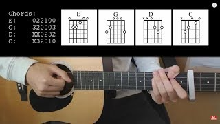 Lil Nas X Old Town Road feat. Billy Ray Cyrus EASY Guitar Tutorial With Chords Lyrics.mp3
