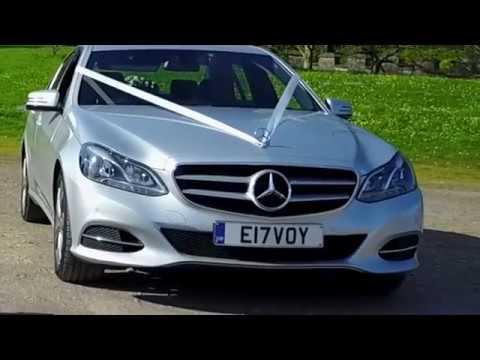 Bristol wedding cars   - silver E-class Mercedes