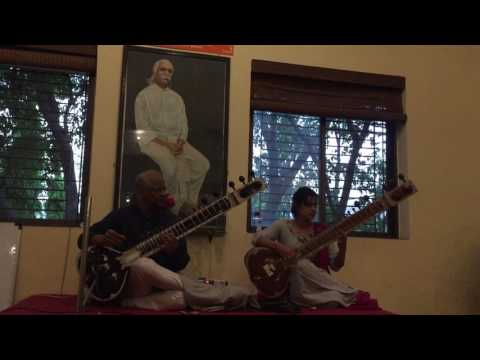Vidur Mahajan and Neha Mahajan performing Raag Shivranjani on Sitar