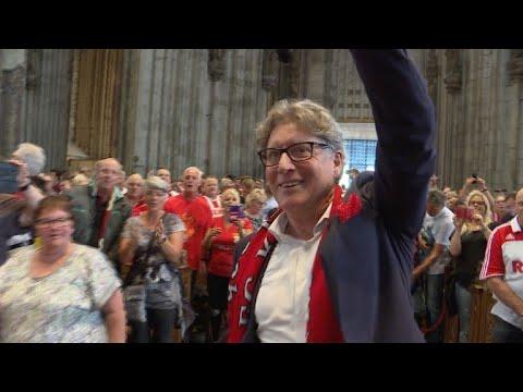 Vor erstem Heimspiel: 4000 Fans singen FC-Hymne im Kölner Dom