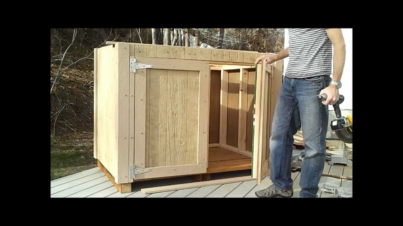 8 How To Hang Shed Doors How To Build A Generator Enclosure Youtube