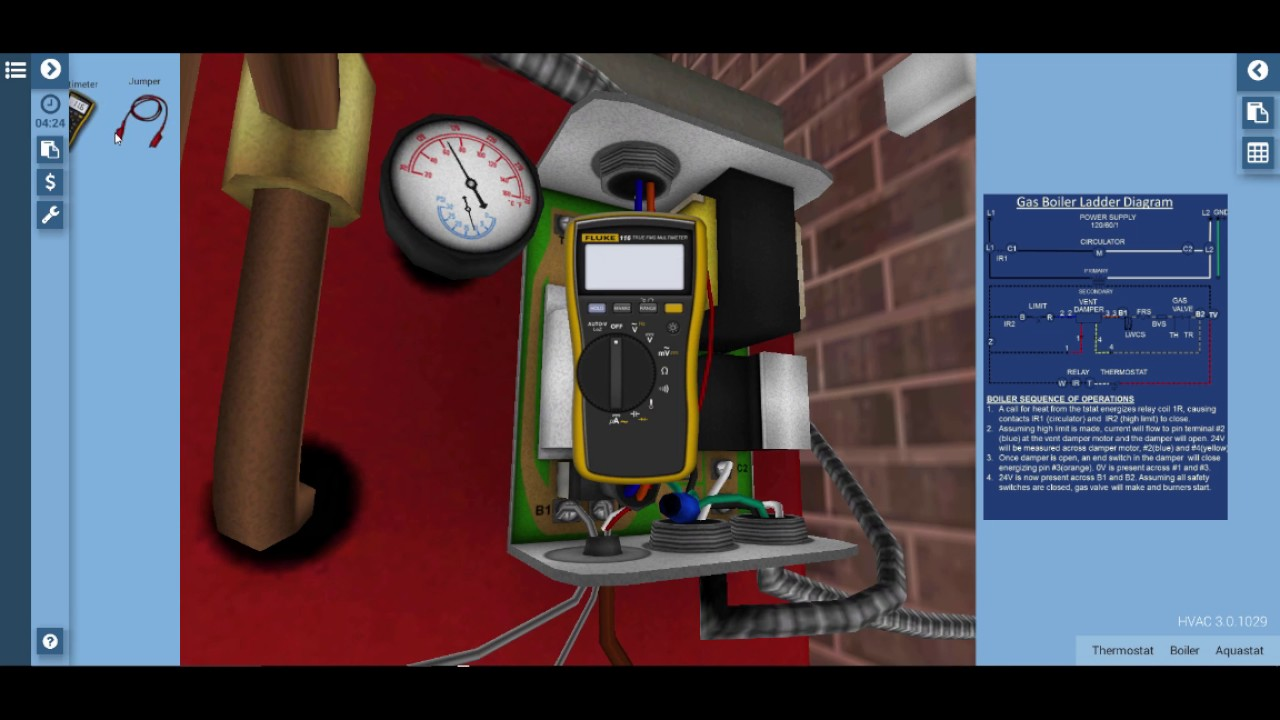Gas Boiler Blocked Vent Safety Switch Troubleshooting - YouTube