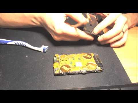Blackberry 9520 Dismantle (Weird Touch Screen)