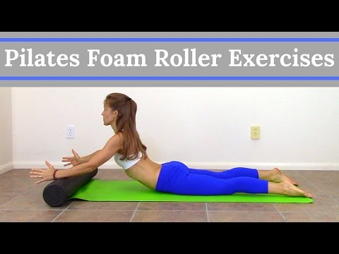 Pilates Foam Roller Exercises - Full Body Foam Roller Workout