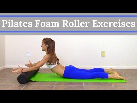 Pilates Foam Roller Exercises - Full Body Foam Roller Workout