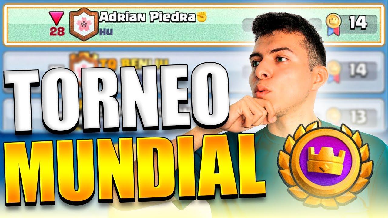 El triple draft es amor!!!! TORNEO MUNDIAL *BAILE SEXY*-Adrian Piedra - Clash Royale