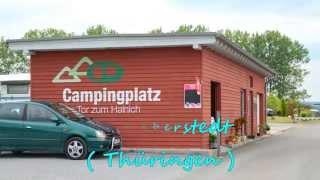 Campingplatz Tor zum Hainich in Weberstedt (Thüringen)