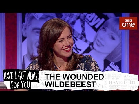 Download Youtube: The wounded wildebeest - Have I Got News For You: Series 54 Episode 2 - BBC One