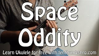 Space Oddity - David Bowie - Ukulele Tutorial