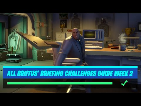 Fortnite All 'Brutus' Briefing' (Week 2) Challenges Guide - Chapter 2 Season 2
