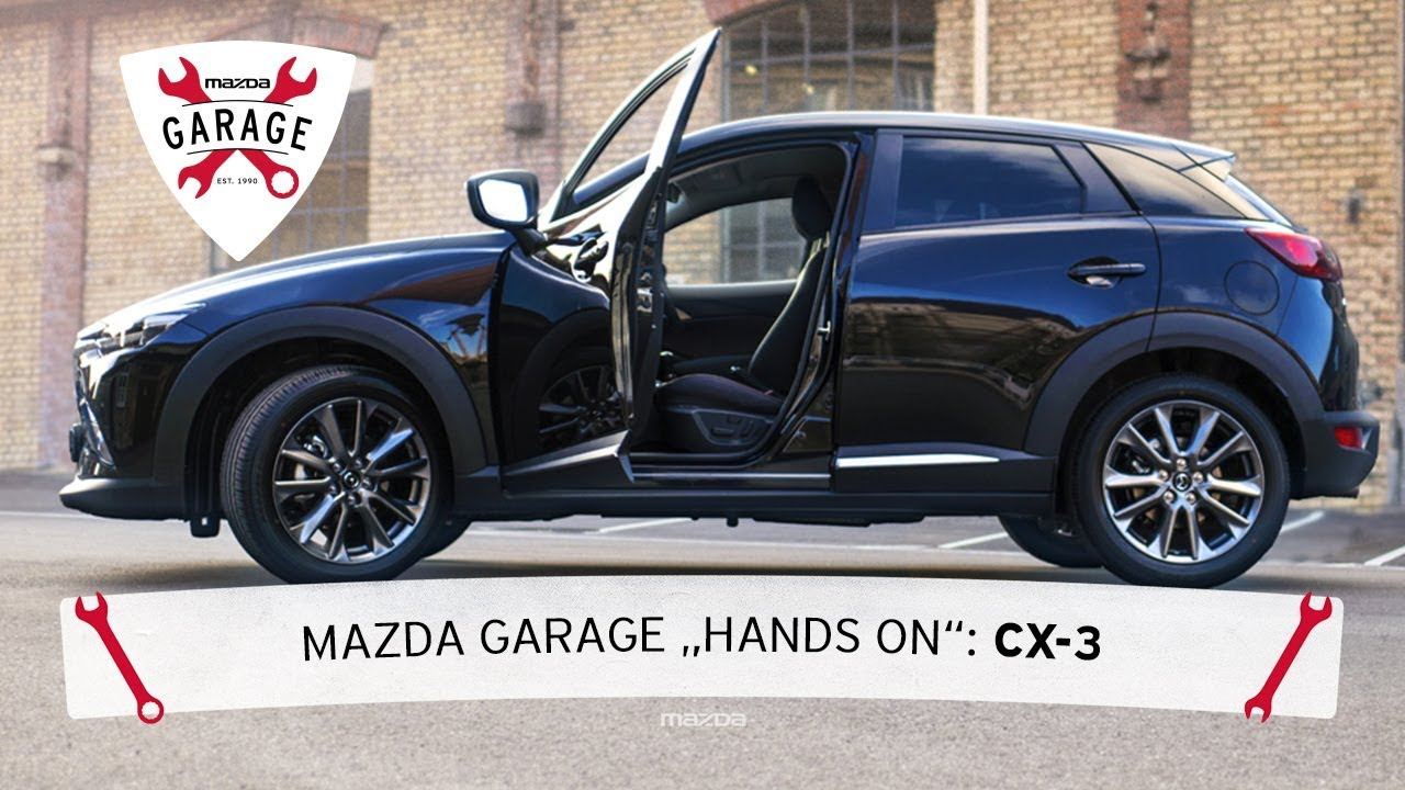 mazda garage hands on lederpflege mit dem mazda cx 3. Black Bedroom Furniture Sets. Home Design Ideas