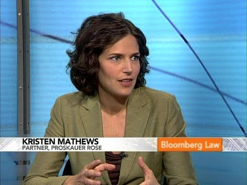 Proskauer's Mathews Discusses Social Networks, Privacy: BLAW