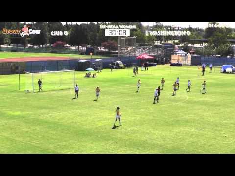 20140824 Womens NCAA Soccer   CSU Bakersfield v Eastern Washington U 1st Half