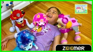 Paw Patrol Toys Marshall & Skye Zoomers Toy Review for Kids