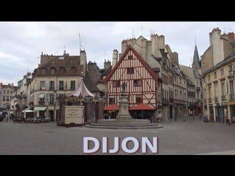 ► Balade dans le centre historique de Dijon (Bourgogne)