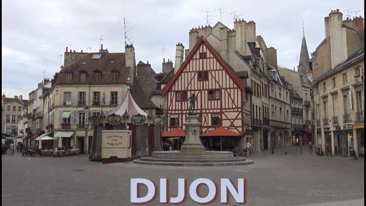 Ville De Dijon En France