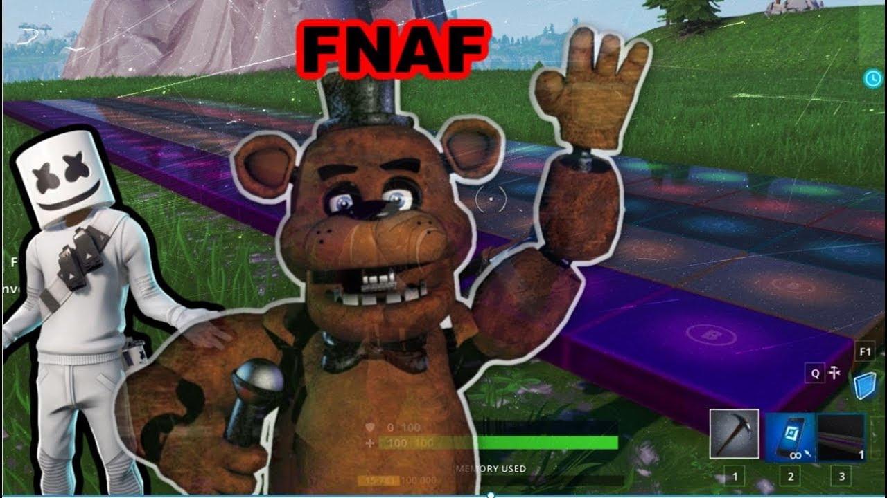 Fortnite Fnaf 2 Creative Code Fnaf 1 Song The Living Tombstone Fortnite Music Blocks Code Youtube