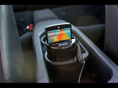 ZENS Qi Wireless Car Charger Review YouTube - Audi car charger
