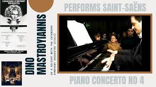 SAINT-SAENS Piano Concerto No 4/ DINO MASTROYIANNIS