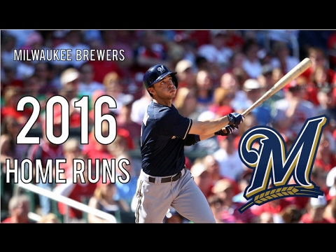 Milwaukee Brewers | 2016 Home Runs (194)