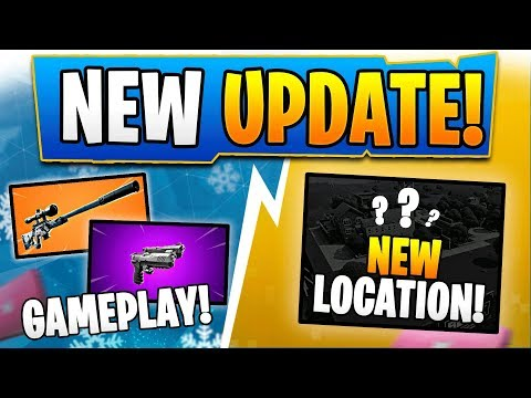 SOLID GOLD LTM BACK! + *NEW* SUPRESSED SNIPER GAMEPLAY +  DRUM GUN BACK!! (Fortnite Update V10.3) thumbnail