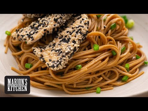 Sesame Chicken Soba Noodles Marion's Kitchen