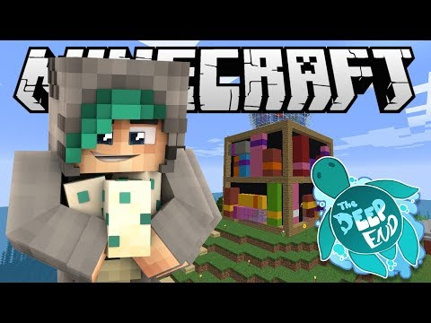 MY BRAND NEW HOUSE!  Minecraft The Deep End SMP  Ep.11