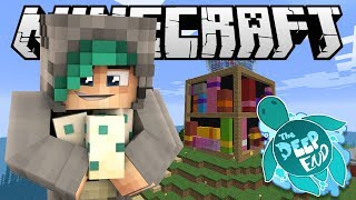 MY BRAND NEW HOUSE! - Minecraft The Deep End SMP - Ep.11