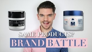 Mister Pompadour Clay vs. Pete & Pedro Clay | Brand Battle