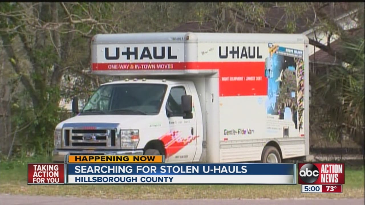 Stolen U-Haul trucks, five since December, have investigators moving