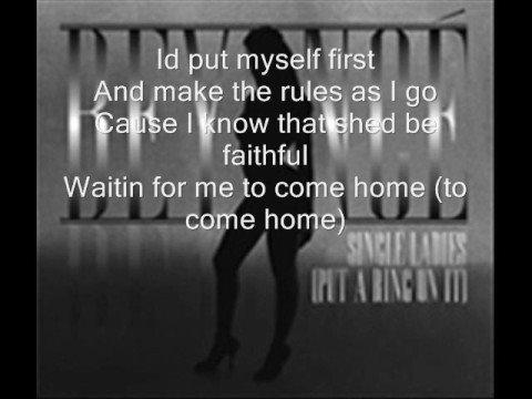 if i were a boy...lyrics) beyonce
