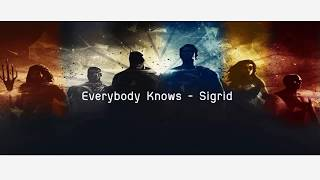 Download Lagu [Thai Sub] Everybody Knows - Sigrid  From Justice League Mp3