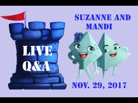 Live Q&A with Suzanne and Mandi - Nov. 29, 2017 thumbnail