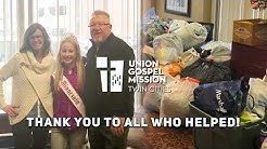 Donations for the Naomi Family Residence of Union Gospel Mission