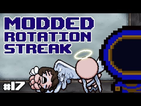 INSANE ANGEL DEAL! :: Modded Isaac: Rotation Streak :: 17