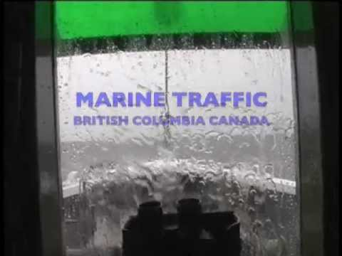 Marine traffic B.C waters
