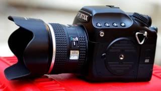 Pentax 645D medium format DSLR camera - hands on introduction