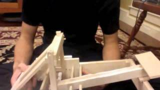 Balsa Wood Torsion Catapult