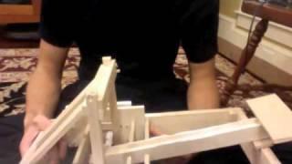 Balsa Wood Torsion Catapult