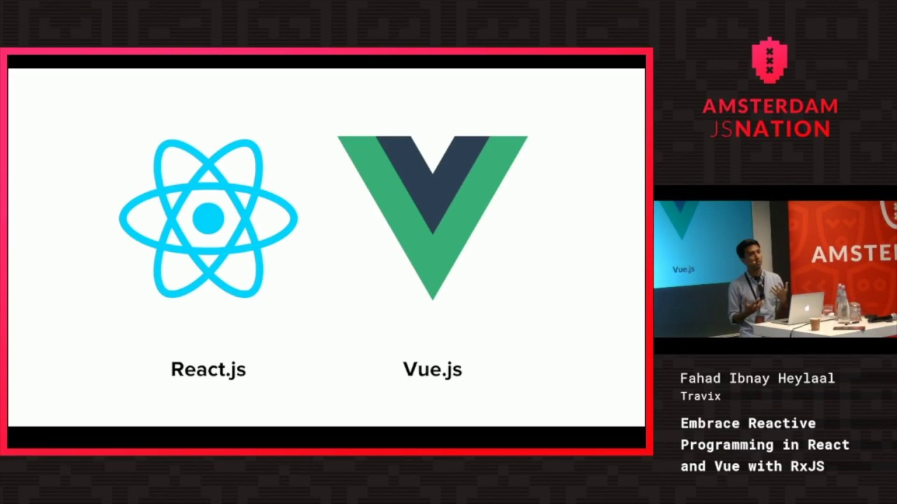 Embrace Reactive Programming in React and Vue with RxJS – Fahad Ibnay Heylaal