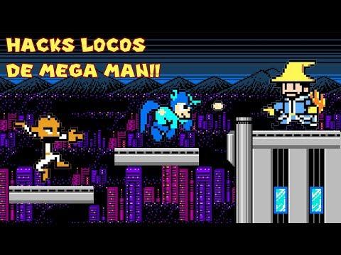 Probando Hacks y Mods Extraños de Mega Man con Pepe el Mago