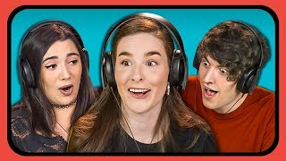 YOUTUBERS REACT TO TRY TO GUESS THE ENDING CHALLENGE #2