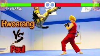 Real Life Tekken Fight   Hwoarang Vs Paul Phoenix   Flips & Kicks