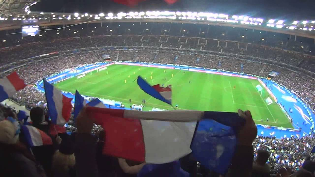 Mon exp rience au stade de france pour france ukraine 19 11 13 youtube - Stade de france place vip ...