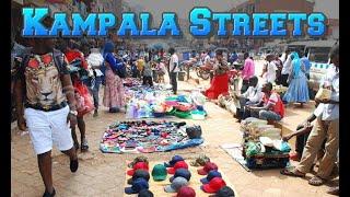 Walking Down The Streets Of Kampala, Uganda