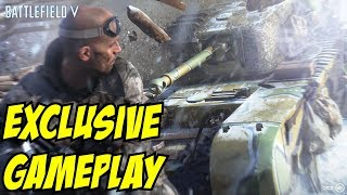 Battlefield 5 Gameplay Grand Operations Recon Medic Support Tank Multiplayer Montage EA Play 2018 E3