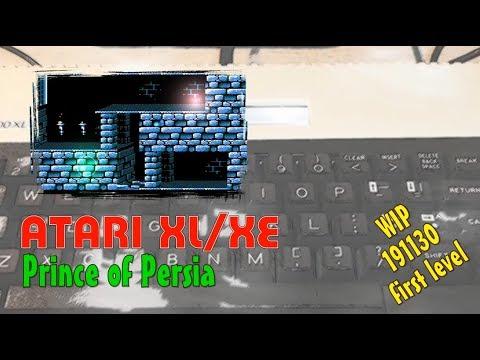Atari XL/XE -=Prince of Persia=- WIP first demo